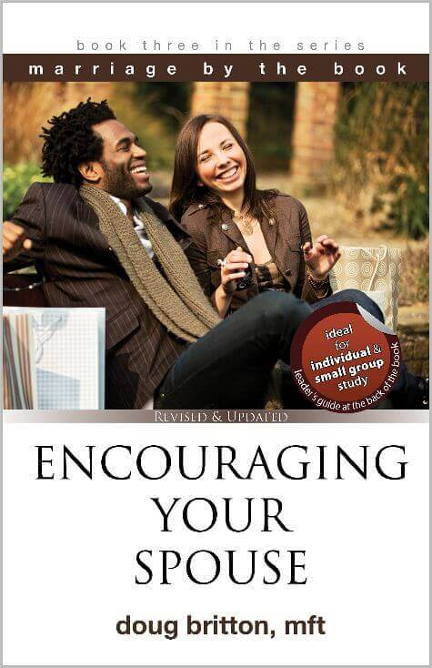Bible-based Christian marriage book on how to encourage, show respect, and love